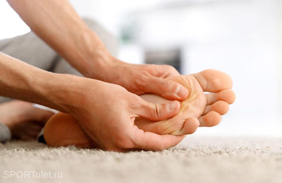 Упражнения для укрепления пальцев ног